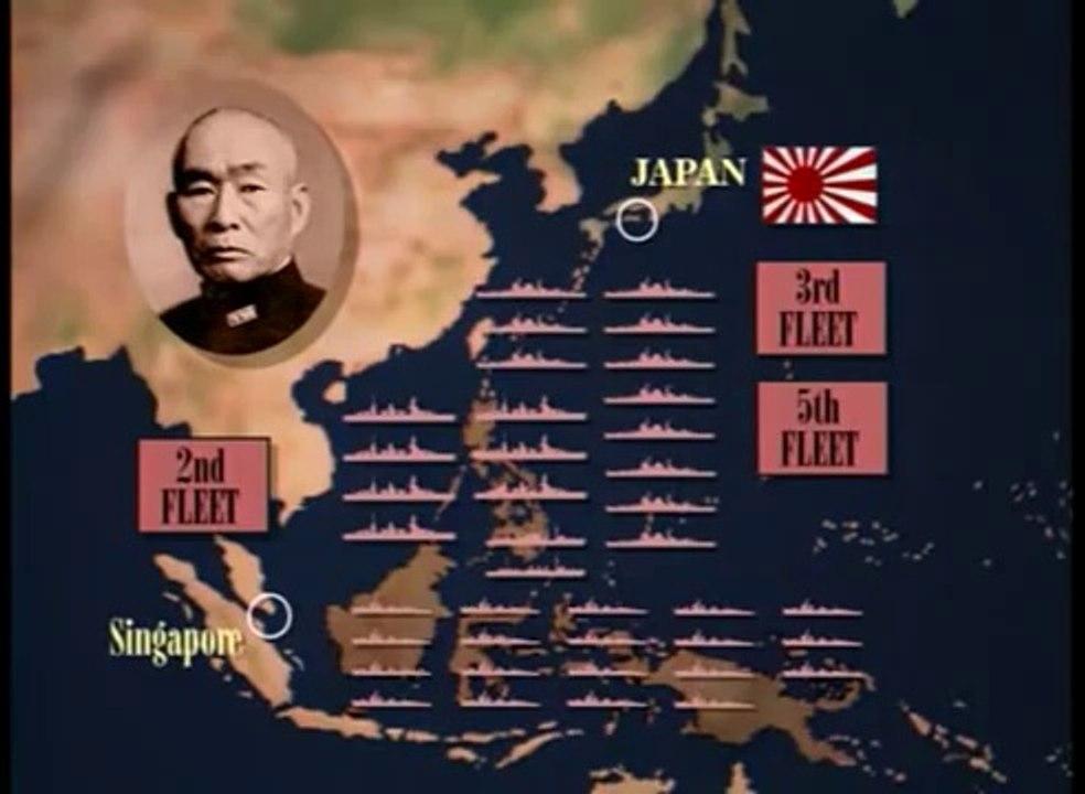 BATTLEFIELD - THE BATTLE OF LEYTE GULF - Military/History/World War II  (documentary)