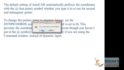 Co-ordinate System Class-1_Autocad_Sample_Video