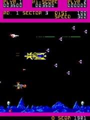 SPACE ODYSSEY 1981-SEGA