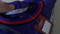 Unboxingjerseys.ru NBA Raptors #15 Vince Carter  purple basketball jersey review
