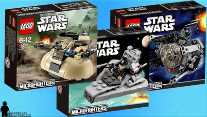 LEGO Review - Star Wars Microfighters Part 1