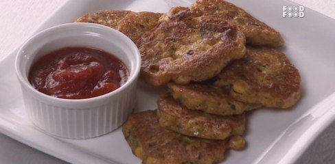 Corn Fritters | Tea Time