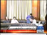 PTI Khurram Sher Zaman criticized badly by PPP Sharjeel Memon & Dy.Speaker Shehla Raza for asking question about wine