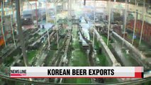 Korean beer exports to China increase on back of Korean drama success (2)
