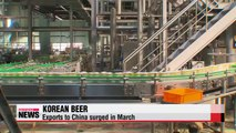 Korean beer exports to China increase on back of Korean drama success (3)