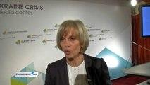 Ukraine : Elisabeth Guigou à Kiev