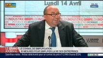 Thierry Mandon et Guillaume Poitrinal, co-présidents du Conseil de simplification, dans Le Grand Journal - 14/04 2/4