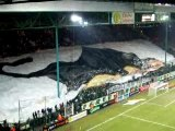 Asse - Lyon 11-12-2005 Tifo Green Angel