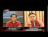 Hassan Nisar with Dr Danish programe Sawal ye hi_clip2