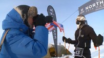 Maratón del Polo Norte - Wardian y Flammersfeld, ganadores
