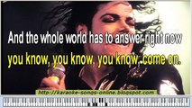 Michael Jackson You Are Not Alone Karaoke Version - video
