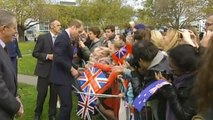 The Royals delight crowds in Christchurch