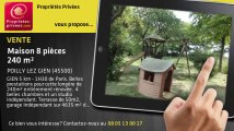 A vendre - maison - POILLY LEZ GIEN (45500) - 8 pièces - 240m²