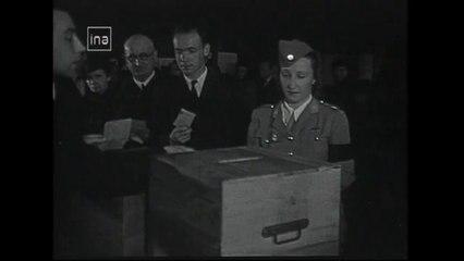 Droit de vote des femmes : Législatives et Référendum Octobre 1945