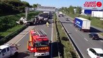 Rennes. Un camion couché sur la rocade