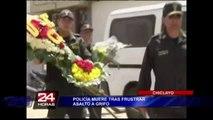 Policía pierde la vida tras frustrar el robo de un cajero automático en Chiclayo