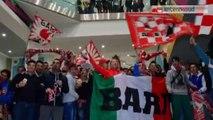 TG 14.04.14 Calcio, serie B: Varese-Bari 0-1. Galletti dall'incubo retrocessione al sogno playoff