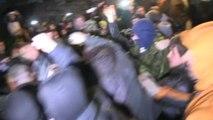 Ukrainian pro-Russia presidential candidate is beaten