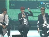 reup 140415 삼성뮤직 Chanyeol, Xiumin, Yixing thunder cut