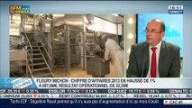 Fleury Michon: Résultats et chiffre d'affaires 2013: Régis Lebrun, dans Intégrale Bourse - 15/04