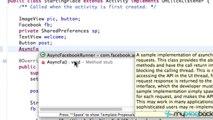 Facebook SDK for Android 11 - Async Facebook Runner Setup