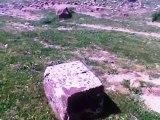 """Site naturel et archéologique """" Hadjret El Berraredj """" . الموقع الطبيعي و الأثري """"حجرة  البرارج """" - الهاشمية - ولاية البويرة"""