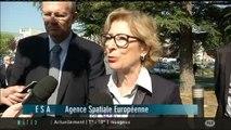 Geneviève Fioraso visite le CNES (Toulouse)
