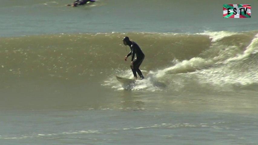 Montalivet: Surf sur la plage devastée - Euskadi Surf TV