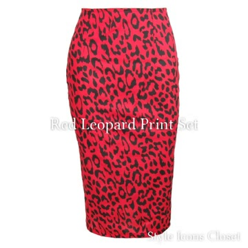 Style Icons Closet Animal Print Set