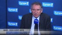 """François Bayrou : """"Les débuts de Manuel Valls sont réussis"""""""