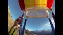 Base wingsuit fly ingushetia myt-loam