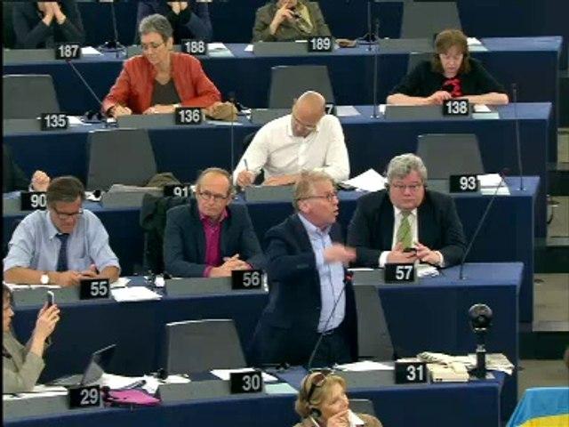 Daniel Cohn-Bendit :Discours d'adieu pro-fédéraliste au Parlement européen