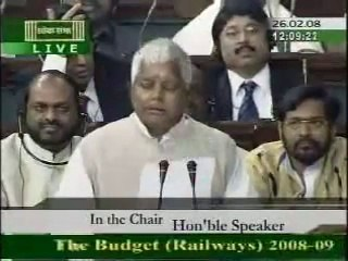 Lalu Prasad  Yadav Speech In English.