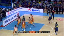 Dorsey misses free throw and dunks