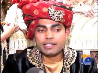 Umar Akmal speaks to media on his wedding day