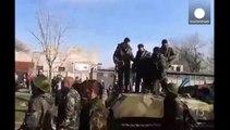 Activistas prorrusos toman el ayuntamiento de Donetsk