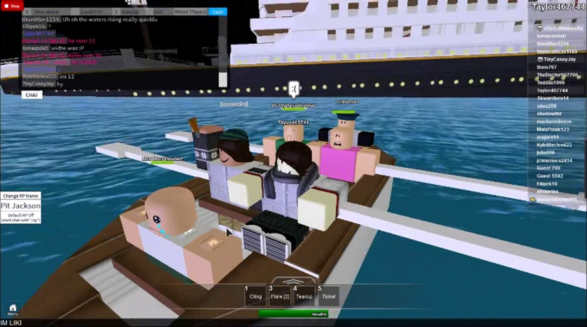 Roblox Titanic Life On Tianic Is Back Video Dailymotion