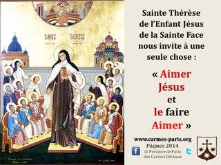 3. Prier avec l'icône de sainte Thérèse de Lisieux