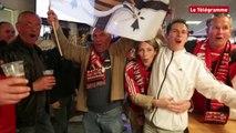 Guingamp-Monaco. Des supporters guingampais à fond avant le match