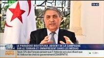 19H Ruth Elkrief: Ali Benflis réagit à l'absence d'Abdelaziz Bouteflika durant la campagne électorale - 16/04