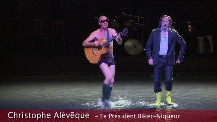 le président biker niqueur