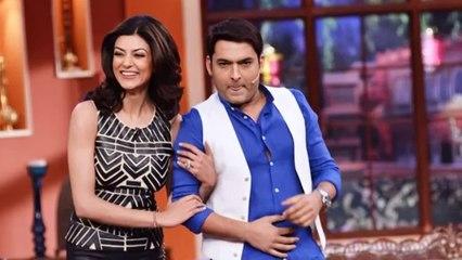 Sushmita Sen's SEXY LOOK on Kapil Sharma's Comedy Nights With Kapil 19th April 2014