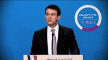 Plan d'économies sur les dépenses publiques : l'essentiel de la déclaration de Manuel Valls