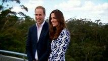 Kate et William visitent les Montagnes bleues en Australie
