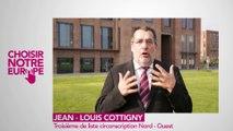 """Jean-Louis Cottigny """"Pour que tous les salariés d'Europe aient un salaire décent et une véritable protection sociale"""""""