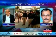 EXPRESS To the Point Shahzeb Khanzada with MQM Haider Abbas Rizvi (15 April 2014)