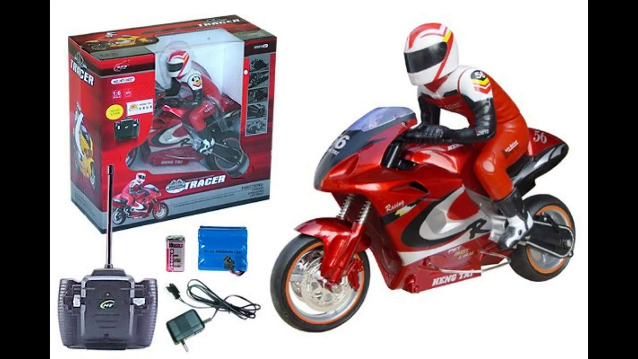 Three R/C MOTORCYCLES Compared!!!