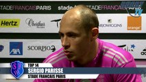 TOP 14 avant match Stade Français-Bordeaux- Dubois-Parisse-Pape