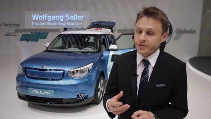 Kia Soul EV @ 2014 Geneva Motor