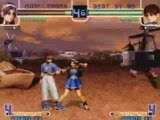 athena video combo  kof 2002